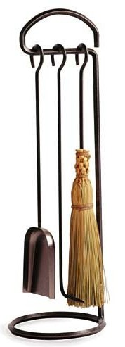 Enclume 3-Piece Fireplace Tool Set