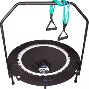 MaXimus Pro Quarter Folding Mini Trampoline Cropped