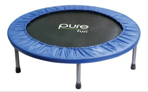 Pure Fun 38-Inch Mini Trampoline