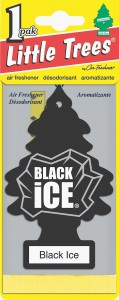 Little Trees Black Ice Air Fresheners