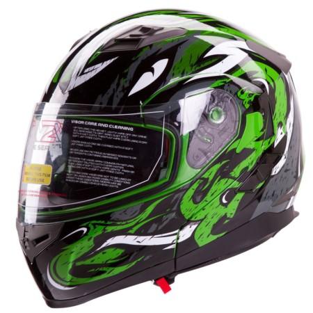 IV2 Helmet + Bluetooth Combo- Model 953 Modular Flip-Up High Performance Helmet