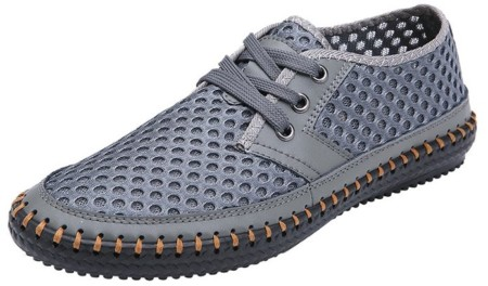 Mohem Men's Poseidon Mesh Walking Shoes