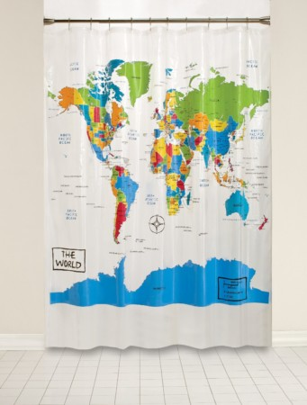 Saturday Knight Shower Curtain