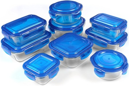 Utopia Kitchen Glass Food Container Set