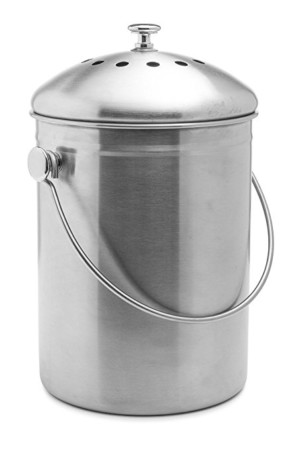 Epica Stainless Steel Compost Bin