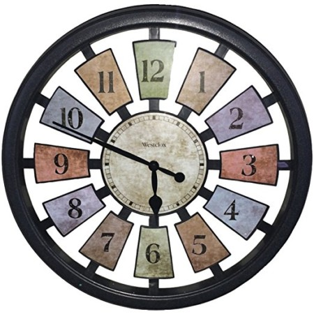 The 10 best wall clocks to buy in 2018 bestseekers westclox 36014 color panel quartz wall clock gumiabroncs Images