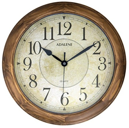 The 10 best wall clocks to buy in 2018 bestseekers adalene 14 inch large wall clock gumiabroncs Images