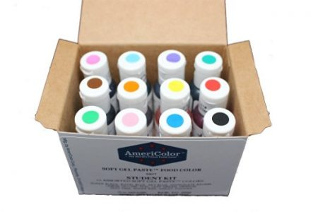 AmeriColor Student Gel Food Coloring