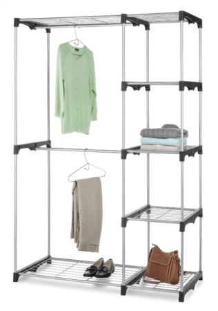 View On Amazon The Whitmor 6779 3044 Double Rod Freestanding Closet Is Another Clothes Rack