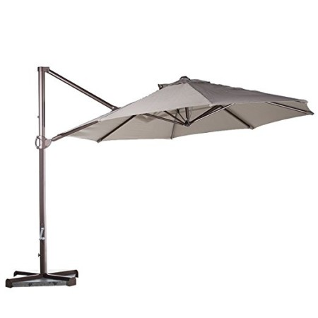 Abba Patio 11 Feet Offset Cantilever Patio Umbrella