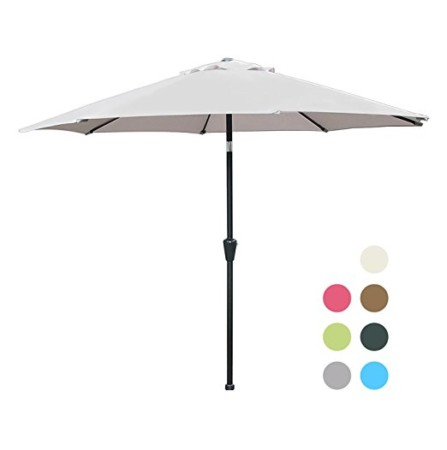 Blissun 9u2032 Patio Umbrella
