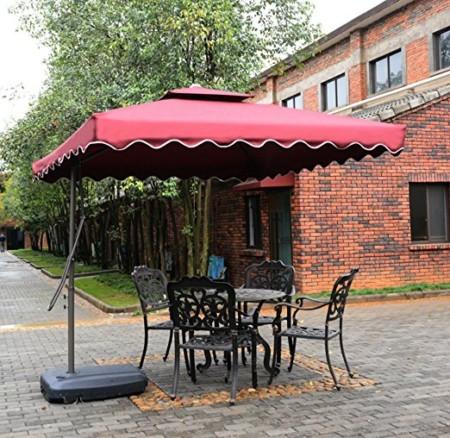 Tyloru0027s Garden 8 1/2 Ft Cantilever Outdoor Patio Umbrella