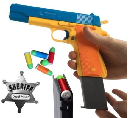 JIAYITOYS Classic Colt Toy Gun