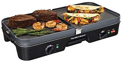 Hamilton Beach 3-in-1 Griddle - best electric griddle