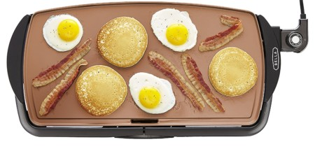 Bella Copper Electric Nonstick Griddle - best electric griddle