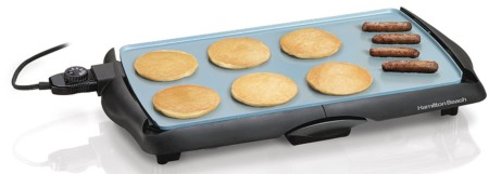 Hamilton Beach Durathon Ceramic Griddle - best electric griddle