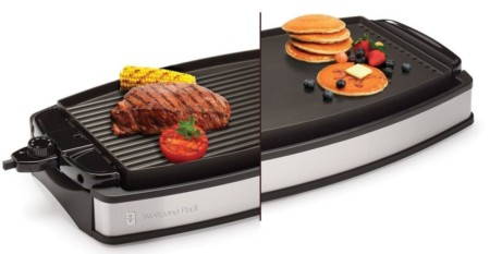 Wolfgang Puck Electric Reversible Griddle - best electric griddle