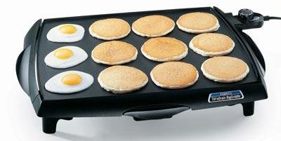 Tilt 'n Drain Big Griddle - best electric griddle