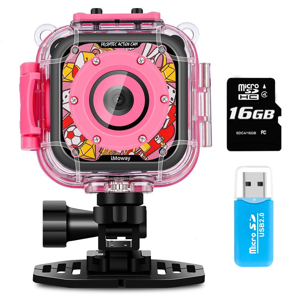 iMoway Waterproof Video Cameras for Kids