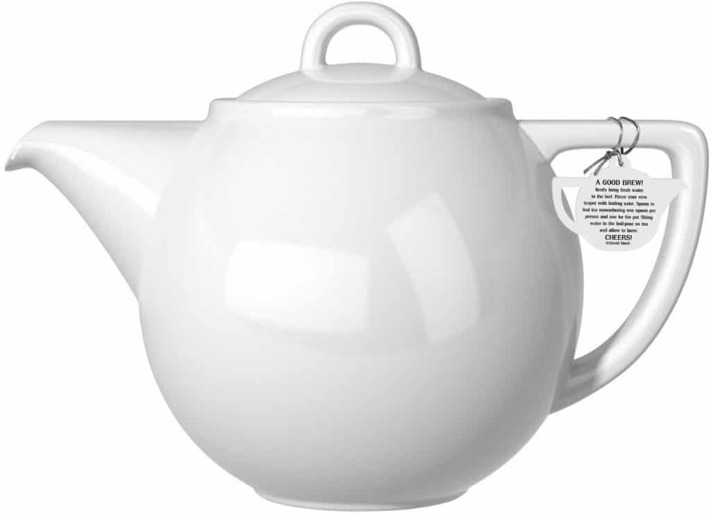 London Pottery Geo Teapot with Stainless Steel Infuser