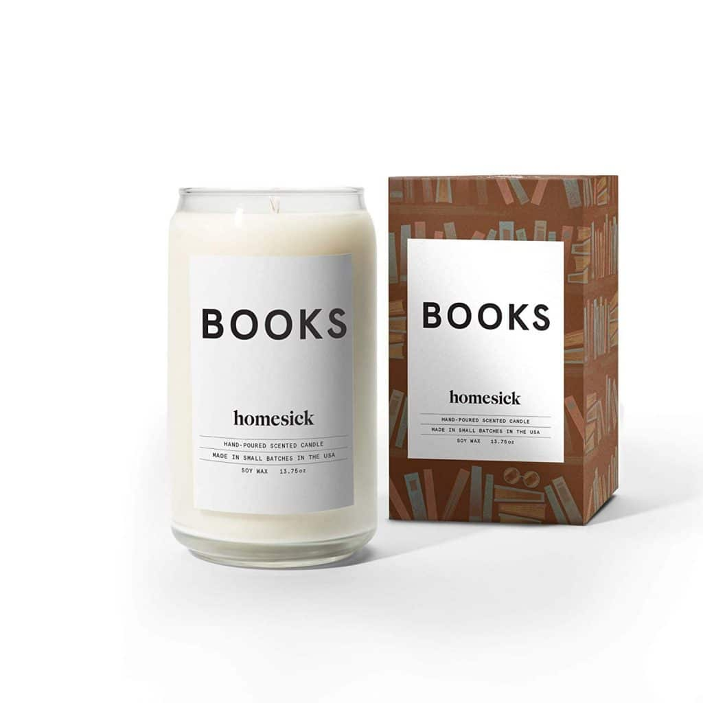 Homesick Scented Candle, Books