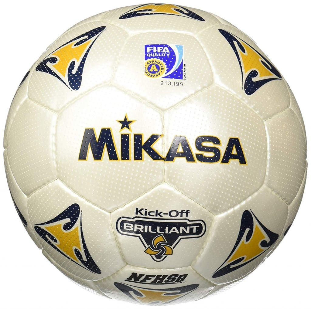 Mikasa PKC55-BR Kick Off Brillant Soccer Ball Official Size