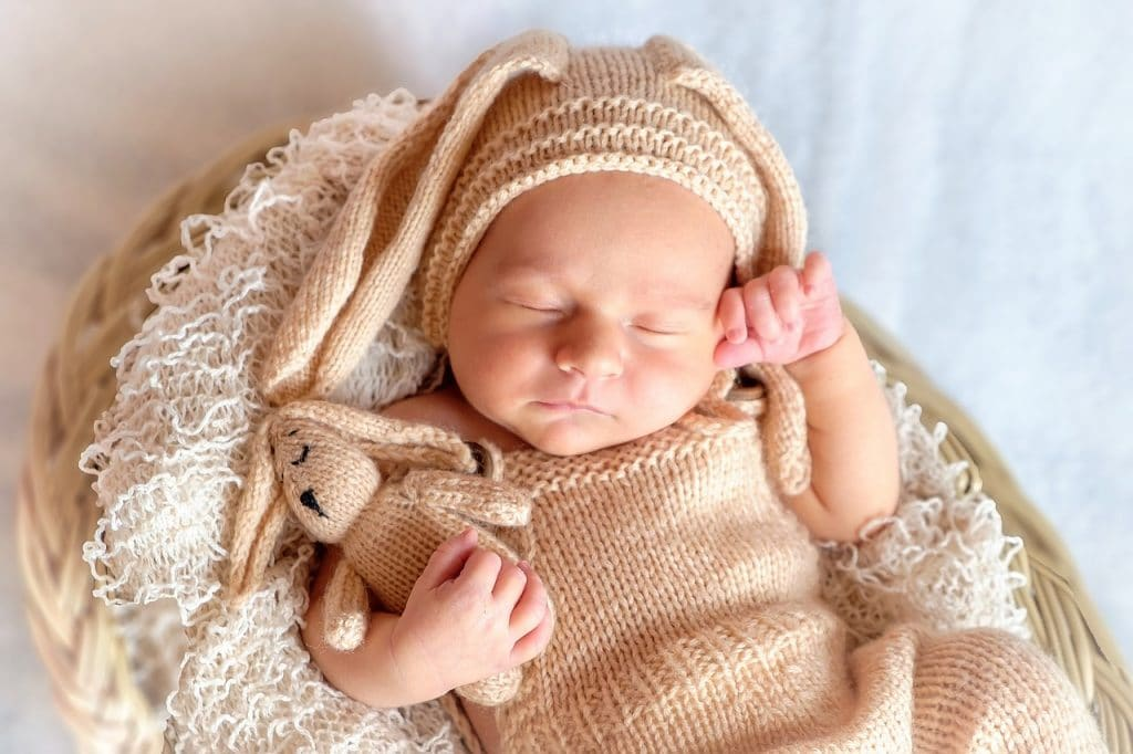 cute little baby wearing brown best baby towels
