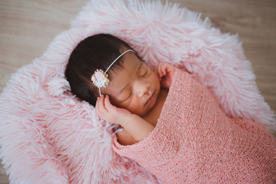 a baby in the pink best baby blankets