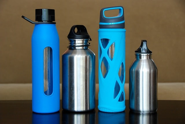 four water bottles that can be used for kids
