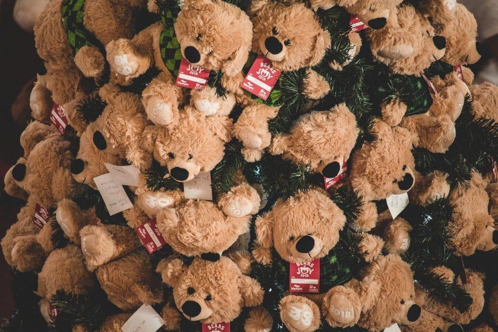 Brown bear plush toys