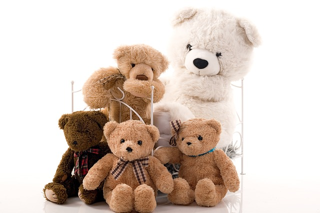 group of teddy bear