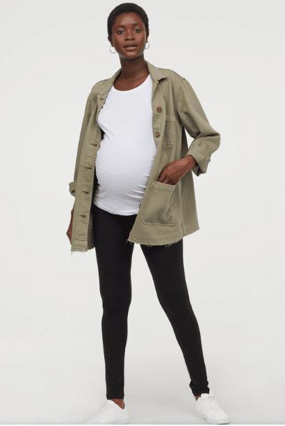 h&m mama leggings
