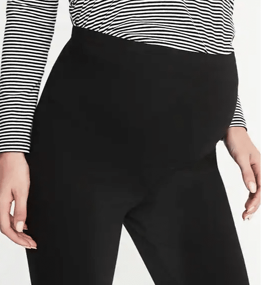 old navy maternity leggings