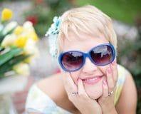 pretty women with sunglasses